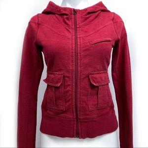 LULULEMON Vintage Rare Red Hoodie Pockets!